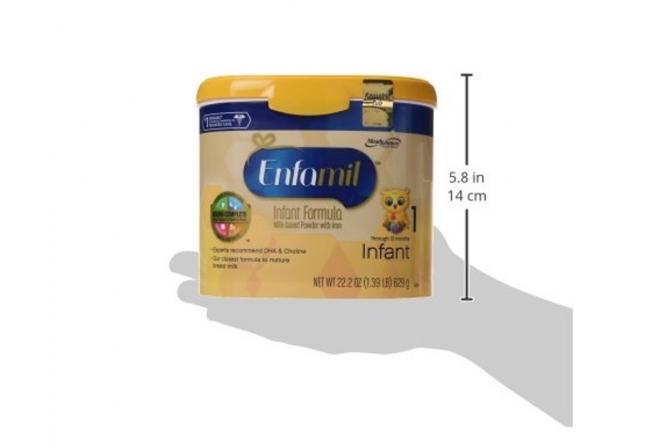 Enfamil Infant Formula Size