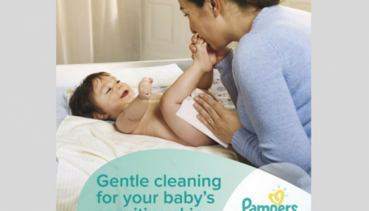 Pampers Sensitive Wipes Review