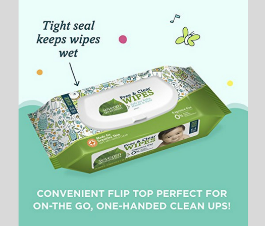 Seventh Generation Baby Wipes review Flip Top