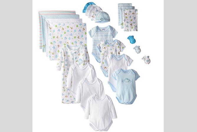 SpaSilk Newborn Baby Clothes Sets