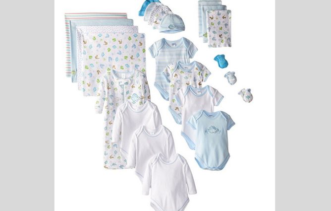 SpaSilk Newborn Baby Clothes Sets
