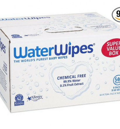 Water Wipes review Box