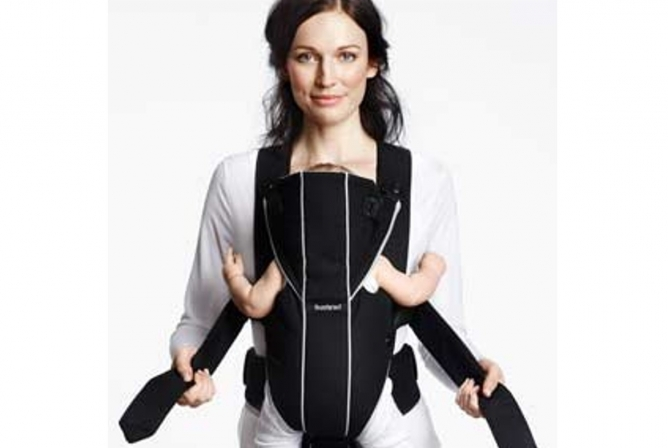 Baby Bjorn Miracle Carrier Adjusts While Wearing