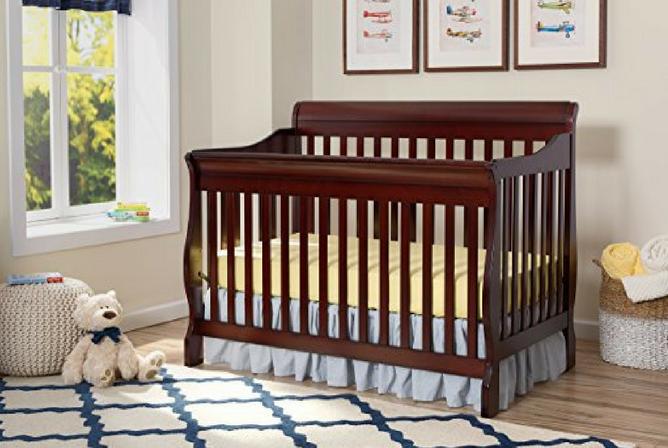 Best Baby Cribs Delta Children Canton 4-in-1 Convertible Crib