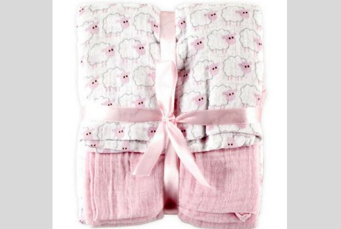 Best Baby Swaddle Blankets Hudson Baby Muslin Swaddle Blanket