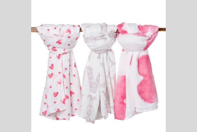 Best Baby Swaddle Blankets Premium Organic Cotton Muslin Baby Swaddle Blanket