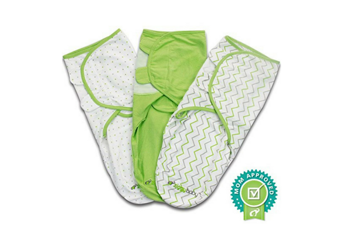 Best Baby Swaddle Blankets Ziggy Baby Swaddle Blanket & Adjustable Infant Baby Wrap Set