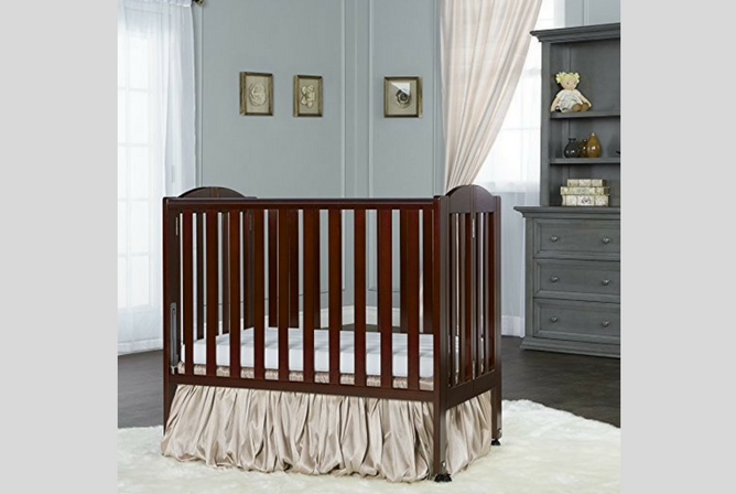 Best Portable Baby Cribs Dream On Me 2 in 1 Portable Folding Stationary Side Crib