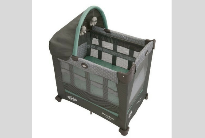 Best Portable Baby Cribs Graco Travel Lite Crib with Stages