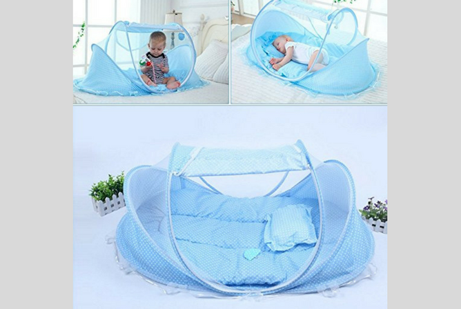 Best Portable Baby Cribs KidsTime Baby Travel Bed