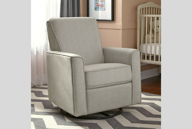 Best Baby Gliders for the Nursery Pulaski Harmony Swivel Glider