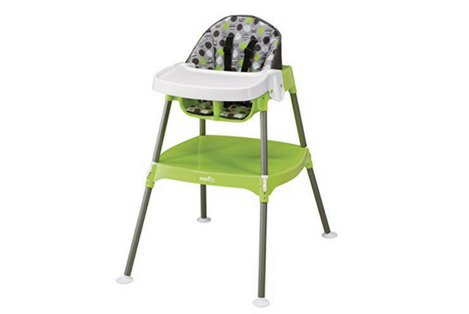 Best Folding High Chairs Evenflo Convertible High Chair