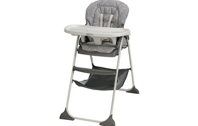 Best Folding High Chairs Graco Slim Snacker