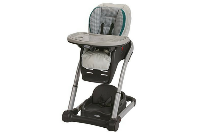 Best High Chair Graco Blossom 4 in 1 Convertible High Chair Seating System