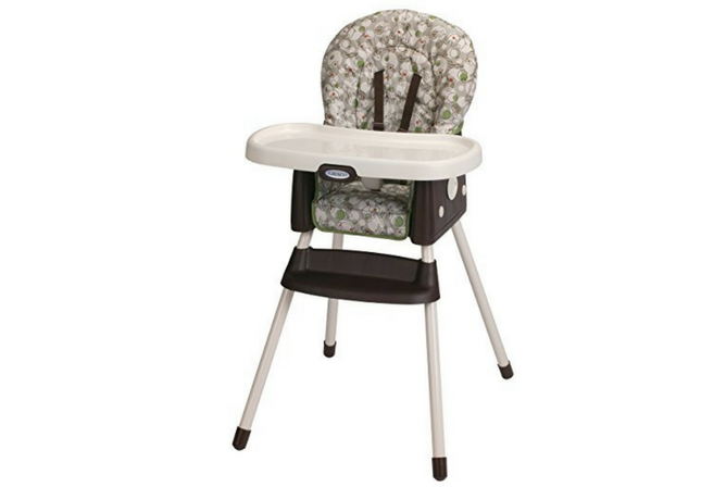 Best High Chair Graco Simpleswitch Portable High Chair and Booster