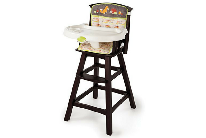 Best High Chair Summer Infant Classic Comfort Wood High Chair