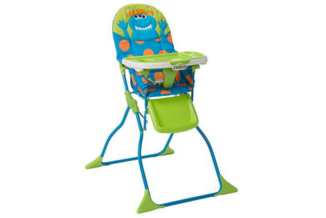 Best High Chairs for Small Spaces Cosco Simple Fold Deluxe High Chair