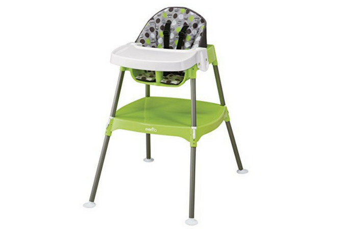 Attrayant Best High Chairs For Small Spaces Evenflo Convertible High Chair