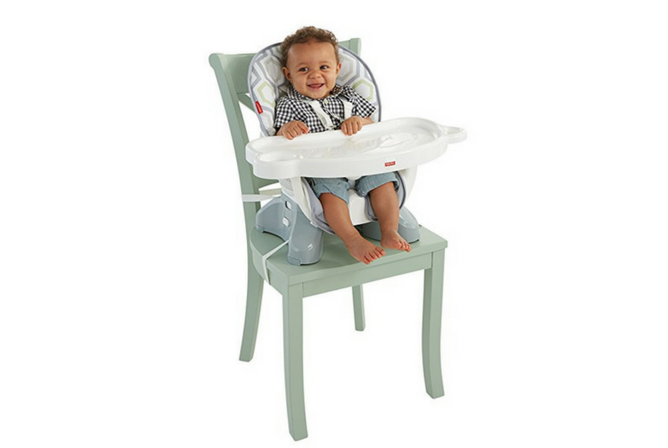 Best High Chairs for Small Spaces Fisher-Price SpaceSaver High Chair