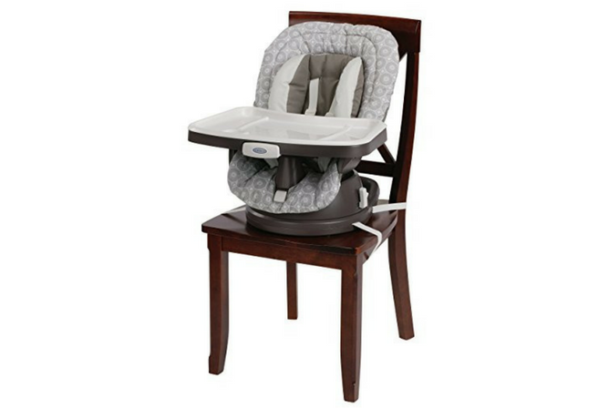 Best High Chairs for Small Spaces Graco Swivi Seat 3-in-1 Booster Chair