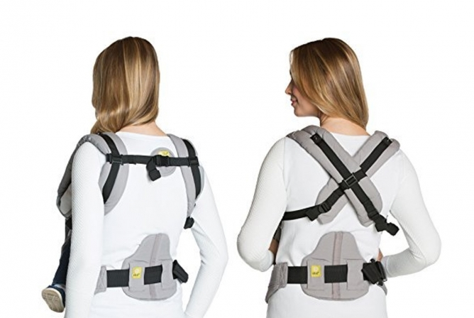 Lillebaby Complete Airflow Carrier Review Back Support