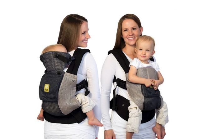 Lillebaby Complete Airflow Carrier Review Front and Back Perfect for Toddlers