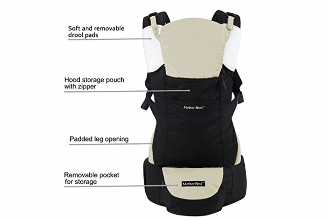Mother Nest Ergonomic Carrier Baby Comfort