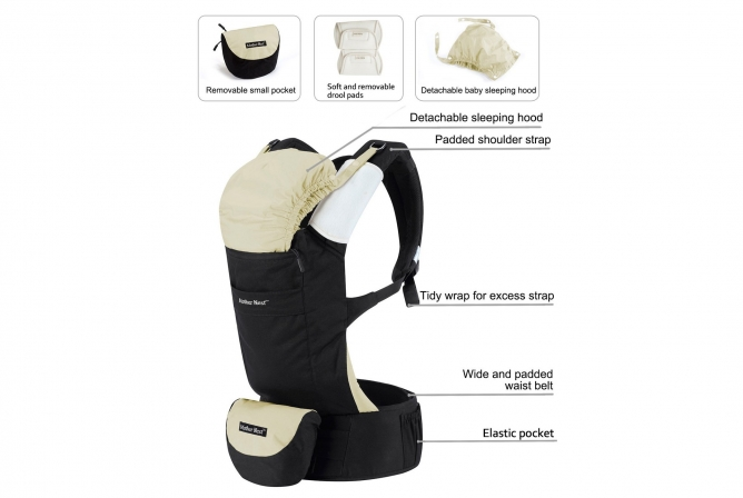 Mother Nest Ergonomic Carrier Features