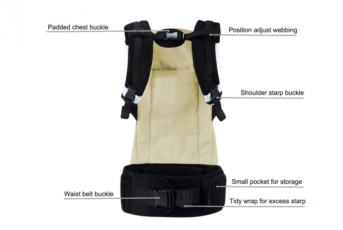 Mother Nest Ergonomic Carrier Parent Comfort