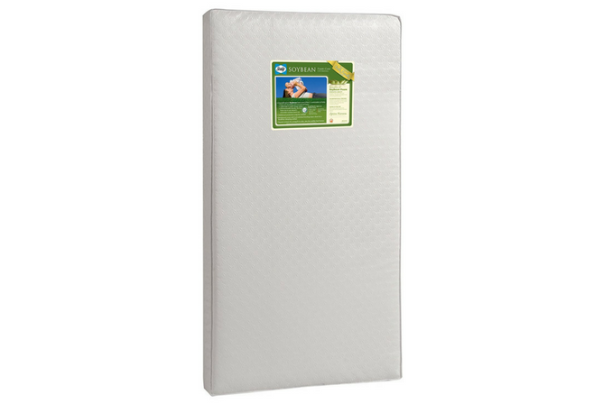 Best Baby Mattress Sealy Soybean Foam-Core Crib Mattress
