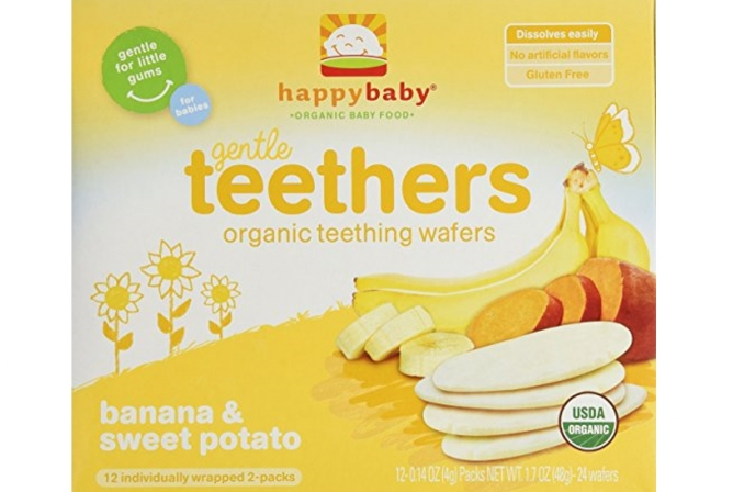 Happy Baby Organic Teething Wafers