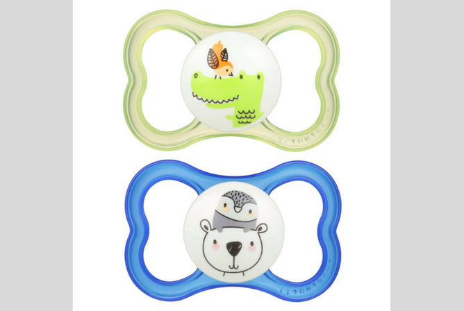 Best Pacifiers for Toddlers MAM Air Orthodontic Pacifier