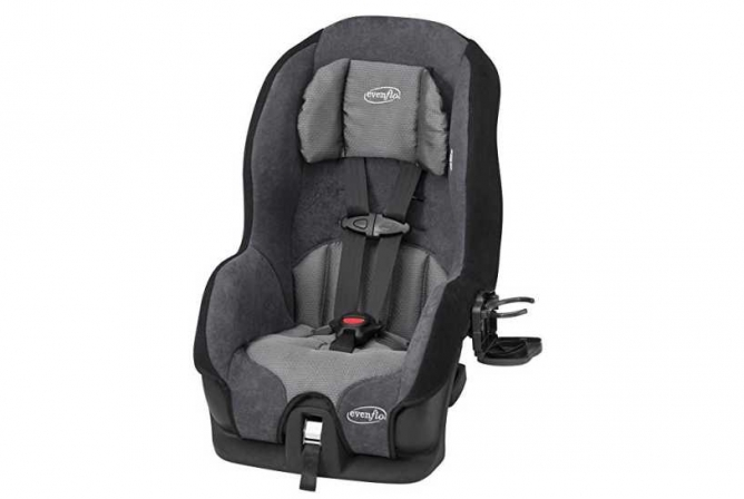 Evenflo Tribute LX Convertible Car Seat for Toddlers 2017