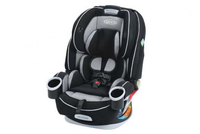 Graco 4ever All-in-One Convertible Car Seat for Toddlers 2017