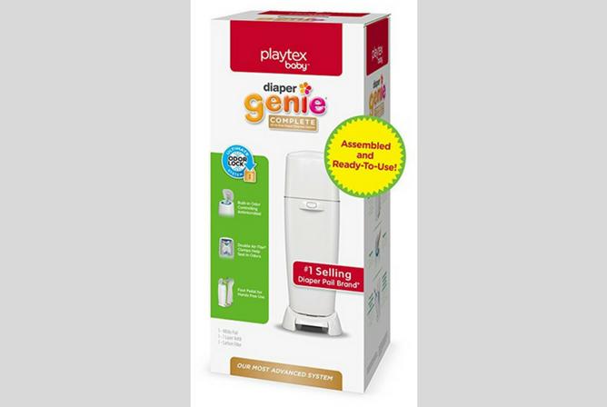 Playtex Diaper Genie Complete Diaper Pail