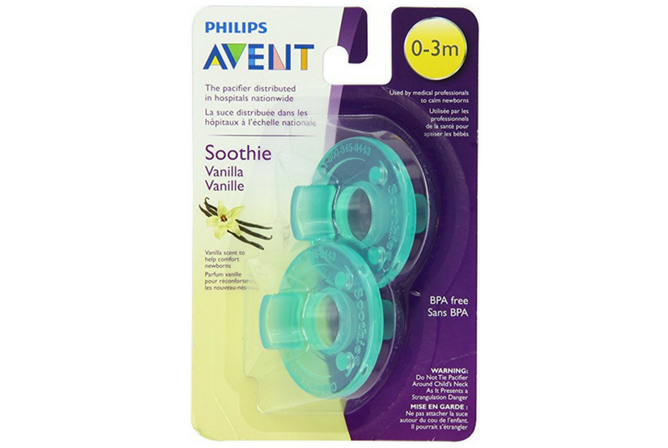best baby Pacifiers Philips AVENT Soothie Pacifier - Vanilla Scented