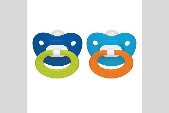 best pacifiers for sleeping NUK Juicy Puller Silicone Pacifier