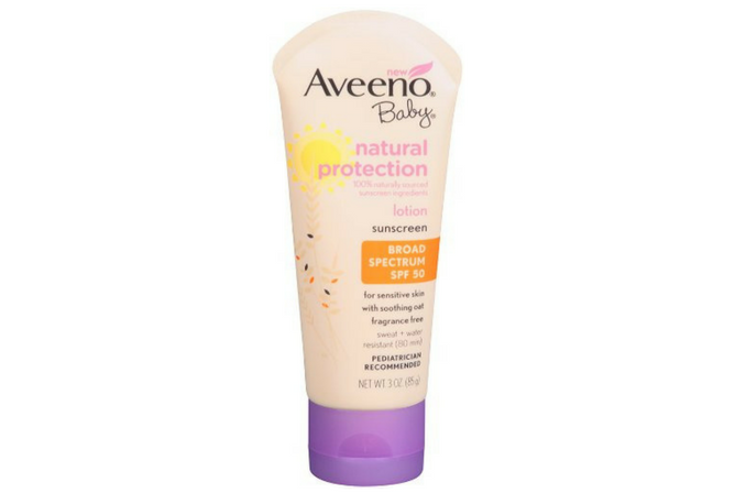 Aveeno Baby Natural Sunscreen Lotion