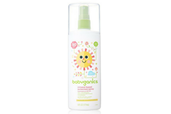 Babyganics Mineral Based Sunscreen Spray