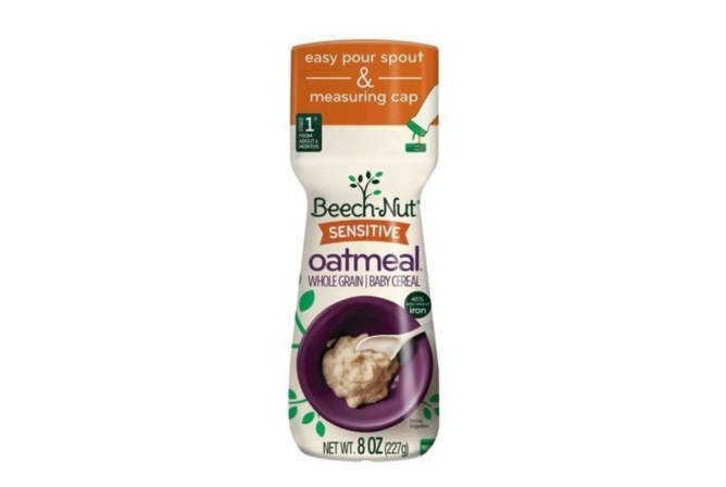Best Baby Cereal Beech-Nut Sensitive Baby Cereal