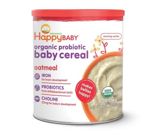 Best Baby Cereal Happy Baby Organic Probiotic Baby Cereal