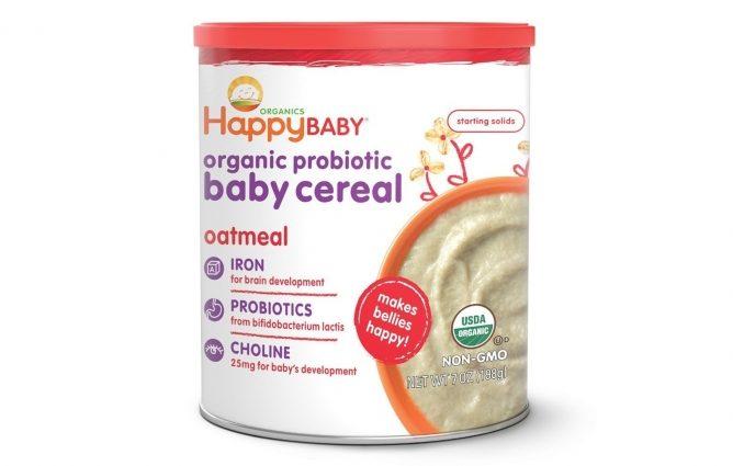 Best Baby Cereal Happy Baby Organic Probiotic Baby Cereal