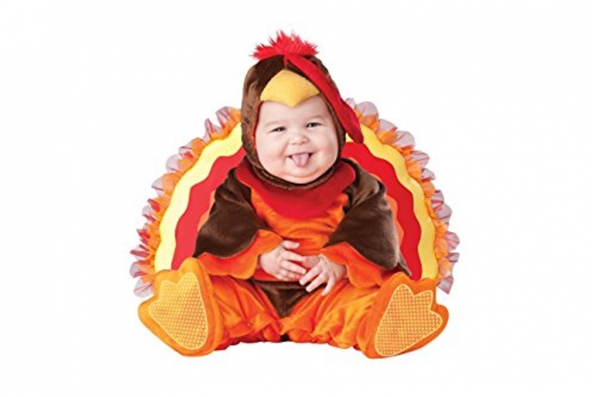 Best Baby Costumes InCharacter Lil' Gobbler Turkey Costume