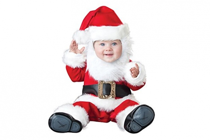 Best Baby Costumes InCharacter Santa Baby Costume