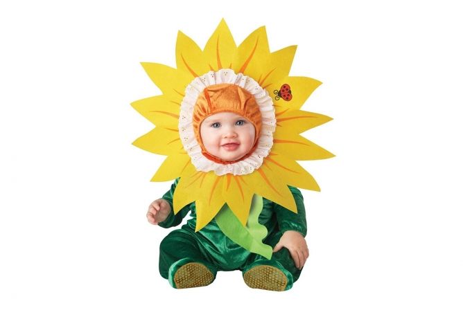 Best Baby Costumes InCharacter Silly Sunflower Costume