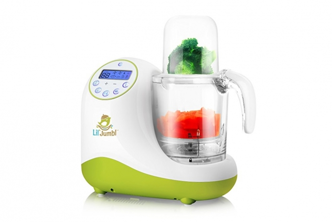 Best Baby Food Maker Lil' Jumbl MealPro Baby Food Maker