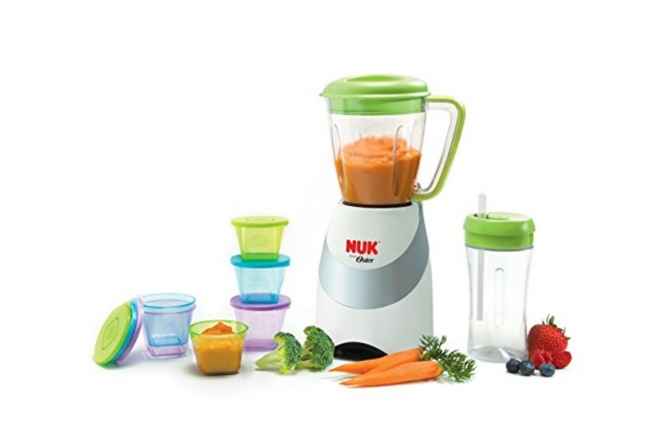 Best Baby Food Maker NUK Smoothie and Baby Food Maker