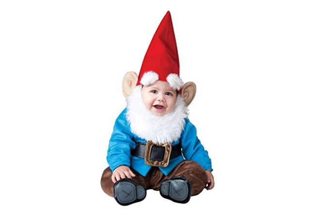 Best Baby Halloween Costumes InCharacter Lil' Garden Gnome Costume