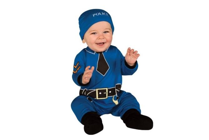 Best Baby Halloween Costumes Rubie's Policeman Jumper Costume