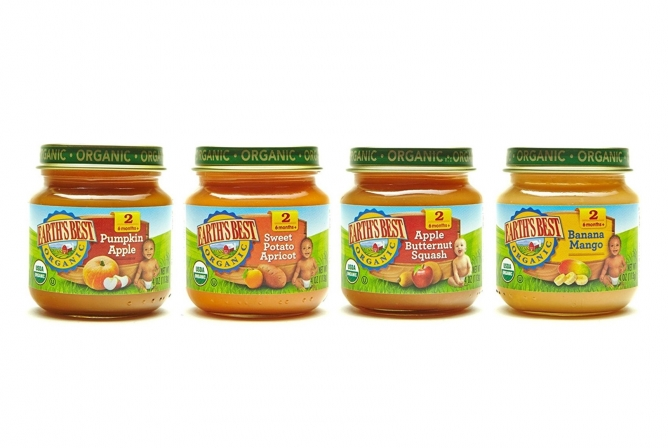 Different Flavors Of Baby Food